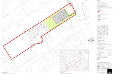 Building plot with planning permission – Hamworthy